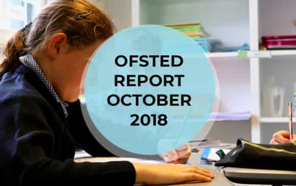 Ofsted report – ottobre 2018