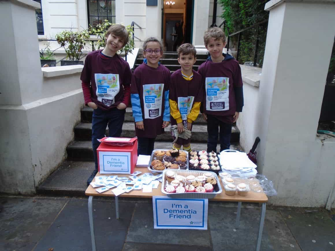 Cupcake sale for Home Instead – Dementia Friends