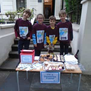 Cupcake sale for Home Instead – Dementia Friends